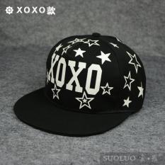 EXO Baru Perempuan Musim Panas Topi Pria Topi Hip Hop (B0125XOXO Model)