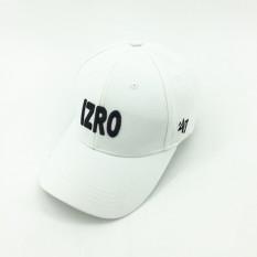 EXO kasual baru visor topi ayat yang sama topi (Putih)