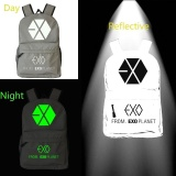 Review Pada Exo Noctilucent Soft Shell Lembaran Outdoor Waterproof Bernapas Backpack Sepeda Rucksack Travel Gym Tas Laptop Tas Sekolah Intl
