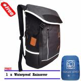 Miliki Segera Expley Tas Ransel Laptop Hx43435 2 Unisex Korean Stayle Original Import Black Raincover
