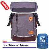 Beli Expley Tas Ransel Laptop Unisex Hx43435 2 Korea Original Import Grey Raincover Expley