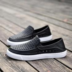 Ledakan Jual Pria Menyumbat Sandal Musim Panas Sandal Pantai Sepatu 102 (hitam)-Intl