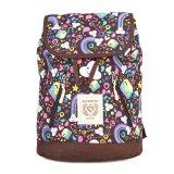 Jual Exsport Tas Ransel Mini Nds Hippies Series Black Coffee Lengkap