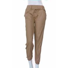 Harga Ezpata Celana Jogger Big Size Wanita Katun Stretch Merk Simple Me Khaki Merk Ezpata