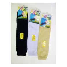 Ezpata Deker Tangan Hijab Bahan Kaos Elastis Good Quality 3 pcs - Multicolour