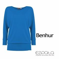 Review Terbaik Ezpata Atasan Kaos T Shirt Wanita Polos Lengan Panjang Model Kelelawar Batwing Bahan Kaos Rayon Benhur