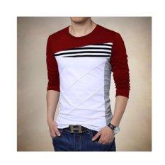 F Fashion Baju Pria Darren - Maroon / Baju Pria / Kemeja Pria / Baju Santai Pria / Baju Muslim Pria / Kemeja Formal / Atasan Pria