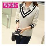 Katalog F Fashion Sweater Wanita Carla Putih F Fashion Terbaru