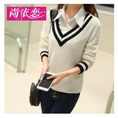 Spesifikasi F Fashion Sweater Wanita Carla Putih Dan Harganya