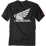 Diskon Pabrik Effex Honda Big Wing T Shirt Hitam Not Specified Korea Selatan