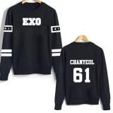 Beli Fahion Wanita Sweater Murah Exo Sweater Chanyeol Cicil