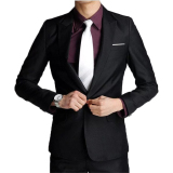 Spesifikasi Famo Blazer Jaket Jas Pria Korean Style Slim Fit Fm 09 Murah