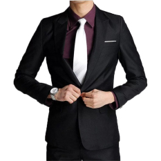 Dimana Beli Famo Blazer Jaket Jas Pria Korean Style Slim Fit Fm 09 Famo Blazer Jaket