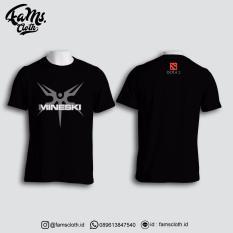 Fams Cloth Kaos Team Mineski Dota2 Lengan Pendek - Hitam