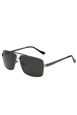 Jual Fancyqube Hot Selling Fashionable Dan Klasik Retro Men S Polarized Sunglasses Dengan Bingkai Hitam 4 Warna Gs 103 Dark Grey Murah Di Hong Kong Sar Tiongkok