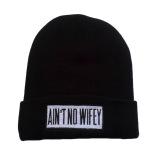 Jual Fancyqube Beanie Hitam Wol Musim Dingin Rajutan Line Cap Bboy Knit Hat Elastis Unisex Cap Kasual Topi Hip Hop Hitam Intl Antik