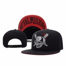Fancyqube Baru Gaya Cap Snapback Klasik Partai Bunga Hat Mulisha Skull Metal Baseball Adjustable Rockstar Fox untuk Wanita Pria H06 -Intl