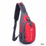 Spesifikasi Fancyqube Baru Musim Panas Fashionsling Tas Travel Bag Sch**l Pack Dada Tas Hiking Bicycle Pouch Merah Intl Terbaru