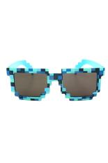 Fancyqube Mosaik Bingkai Kacamata Hitam Unik Pantai Perjalanan Penting Tanpa Uva Kelelahan Adapula Biru