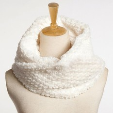 Harga Fancyqube Wanita Fashion Warm Faux Fur Scarves Putih Intl Fancyqube Terbaik