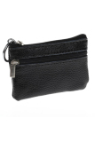 Beli Fang Fang Leather Zip Coin Purse Black Indonesia