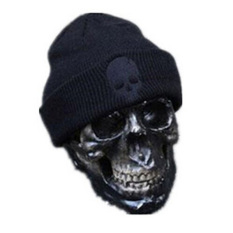 Harga Fang Fang Men Women Beanie Hip Hop Knit Warm Hat Autumn Winter Wool Ski Skull Cap Black Intl Branded