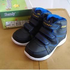 Fanie Shoes - Sepatu Boot / Boots sekolah hitam anak laki murah