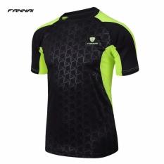 Jual Fannai Baby G T Shirt Tops Cepat Kering Bernapas Kain Training Running Tee Leher O Lengan Bang Pendek Latihan Jersey Murah