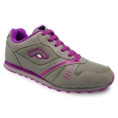 Spesifikasi Fans Castelo P Sepatu Lari Wanita Abu Abu Pink Paling Bagus