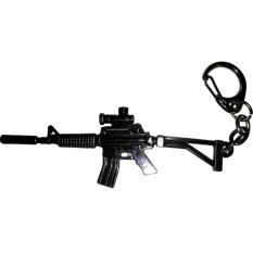 Fantasia Aksesoris Gantungan Kunci Senapan AK47 - Hitam