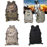 Cuci Gudang Fantastic Flower New Fashion Level 3 Tactical Backpack Camouflage Shoulder Bag 3D Sports Backpack Playerunknown S Battlegrounds Army Green 4 Intl