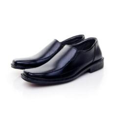 FANTOPEL Sepatu Kerja Kantoran Resmi - Hitam Awet & Kuat