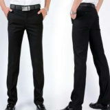 Spesifikasi Fariz Collection Celana Kerja Pria Semiwool Slim Fit Hitam Celana Bahan Formal Pria Semiwool Slim Fit Merk Celana