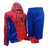 Fas Kostum Anak Stk 1503 Spiderman Merah Original
