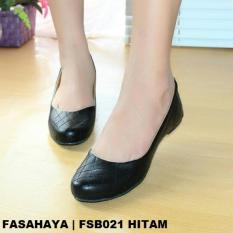 Harga Fasahaya Sepatu Wanita Flat Shoes Ballet Terbaru Murah Fsb021 Hitam Termahal