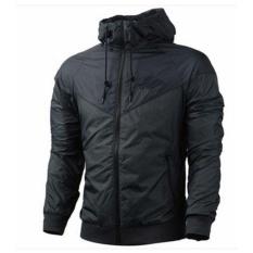 Harga Fashion Pria Musim Semi Musim Gugur Hiphop Hooded Waterproof Jaket Jaket Mantel Pakaian Luar Intl Termurah