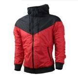 Beli Fashion Pria Musim Semi Musim Gugur Hiphop Hooded Waterproof Jaket Jaket Mantel Pakaian Luar Intl Seken
