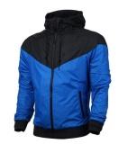 Fashion Pria Musim Semi Musim Gugur Hiphop Hooded Waterproof Jaket Jaket Mantel Pakaian Luar Intl Oem Diskon 50