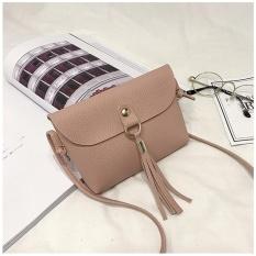 Fashion Bisa Bag Vintage Handbag Kecil Mini Messenger Bahu Rumbai Tas PK-Intl