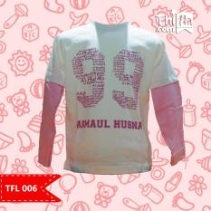 Fashion Anak Branded Baju Anak Muslim / Kaos / Tangan Panjang / Asmaul Husna  - TFL 006 ORI THIFLA