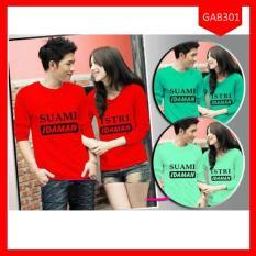Fashion Baju Couple Suami Istri Idaman Terbaru - ABGAB301