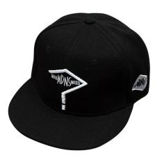 Fashion Baseball Snapback Hip-Hop Topi Disesuaikan Olahraga Hat (Hitam)-Intl a49efed32b