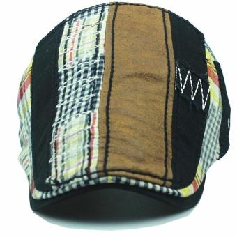 Beli sekarang Fashion Baret Hat Casquette Kapas Topi untuk Pria dan Wanita Outdoor Visors Sun Topi Gorras Planas Flat Caps Adjustable Grosir -Intl terbaik ...