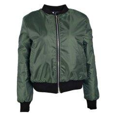 Spesifikasi Mantel Resleting Vintage Jaket Bomber Berpelapis Klasik Wanita Mode Pengemudi Motor Zanzea