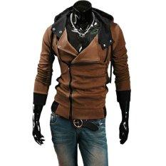 Promo Merek Fashion Pakaian Olahraga Kasual Jackets Man Hoody Assassion Creed Sweatshirt Pria Intl Oem