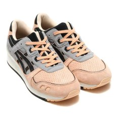 Fashion Breathable Running Shoes Gel Lyte III Slow Running Sneakers Men''s and Women's size 36-45 Casual Sports Footwear H7D7L-9690 (Pink/Black) - intl