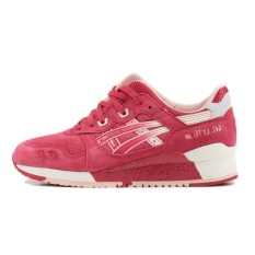 Fashion Breathable Running Shoes Gel Lyte III Slow Running Sneakers Women and Men size 40-45 Casual Sports Footwear H64BK-2108 (Pink/White) - intl