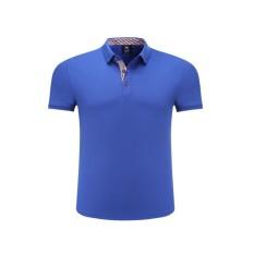 Fashion Kasual Nyaman Katun Murni Lengan Pendek Kelapak Youth Unisex T-shirt Polo Shirt-Intl