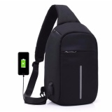 Beli Fashion Casual High Quality Chest Bag Men Women Shoulder Usb Charge Port Bag Multi Layers Anti Theft Cross Bag Travel Bag Business Bag Single Shoulder Bag Riding Bag Intl Kredit