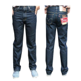 Spesifikasi Fashion Celana Jeans Panjang Standar Reguler Biru Dongker Dan Harga